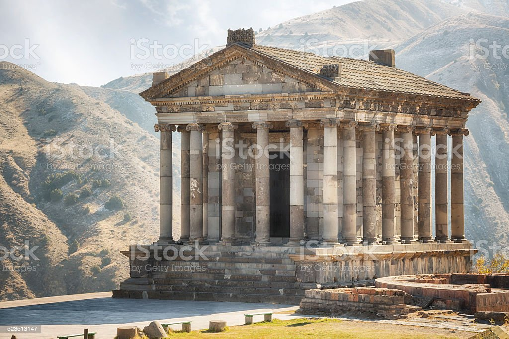 Garni Temple, Armenia stock photo