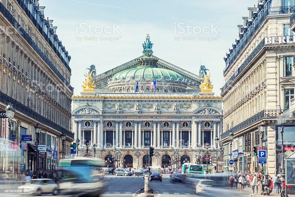 Garnier Opera House, Paris stock photo