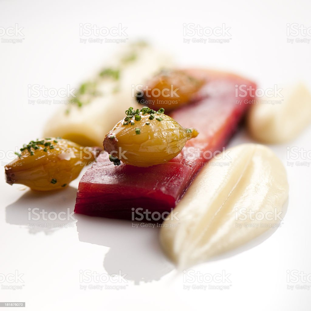 Garniture royalty-free stock photo