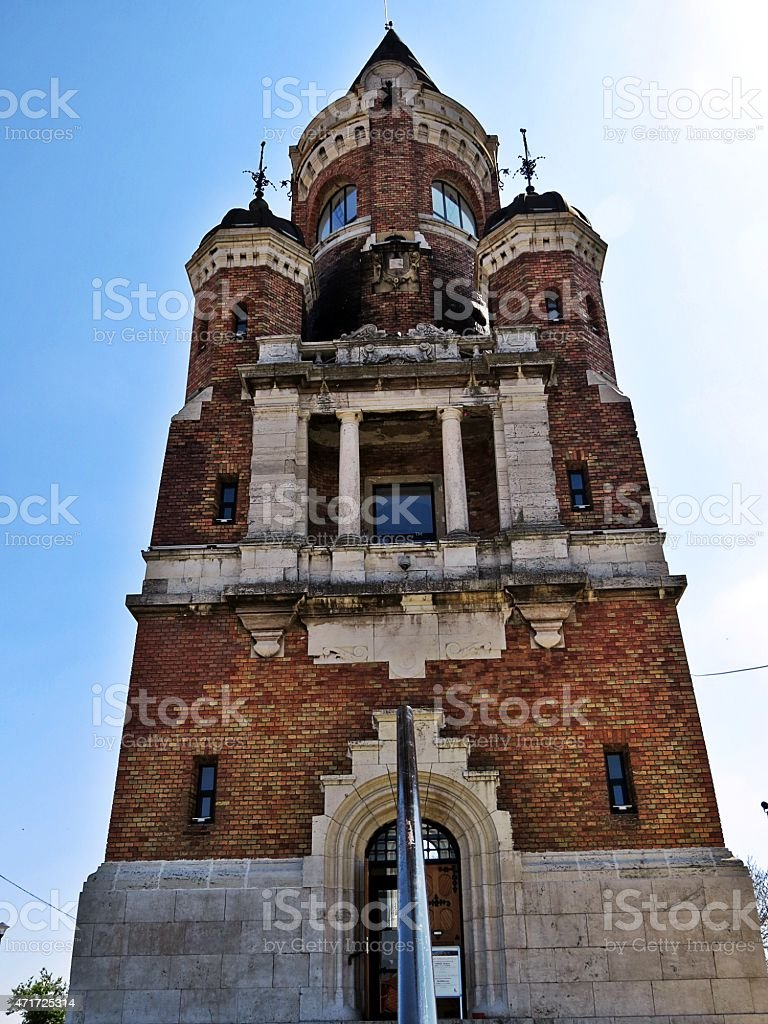 Garos tower stock photo