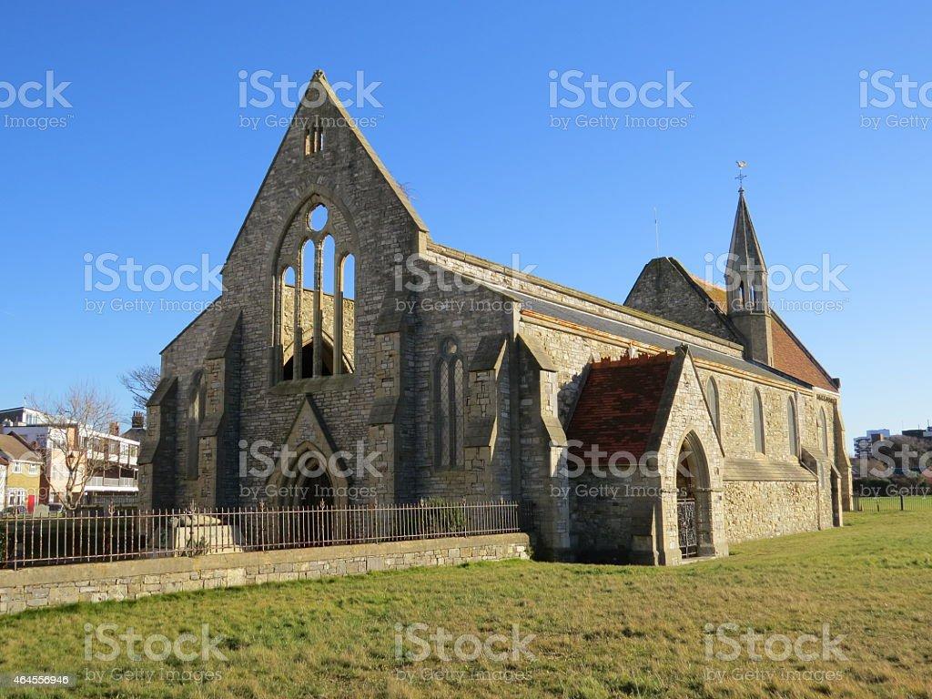 Garrison Church stock photo