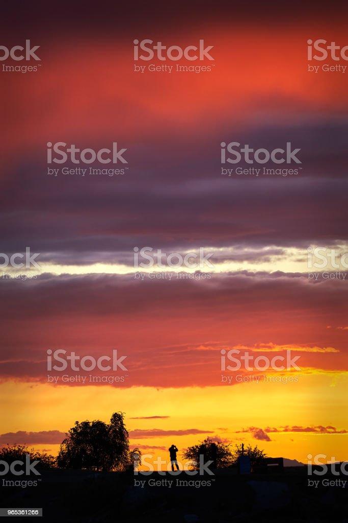 Garry Point Sunset zbiór zdjęć royalty-free