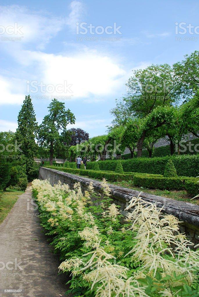 Gartenpark stock photo