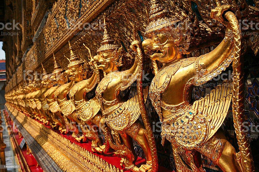 Garuda a national symbol of Thailand royalty-free stock photo