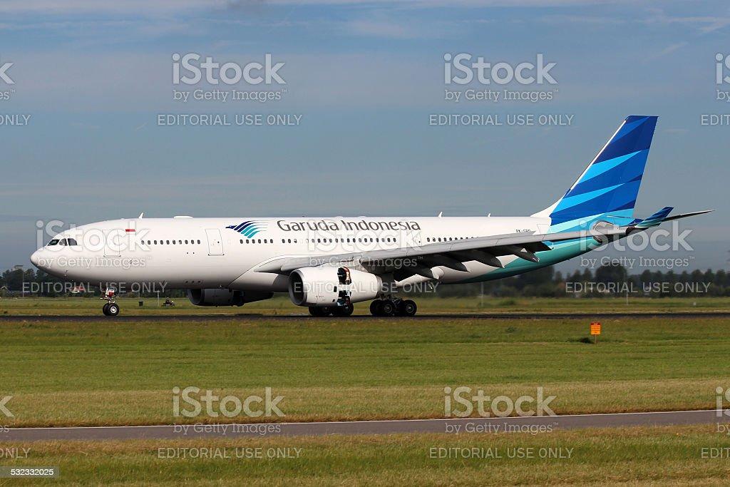 Garuda Indonesia stock photo