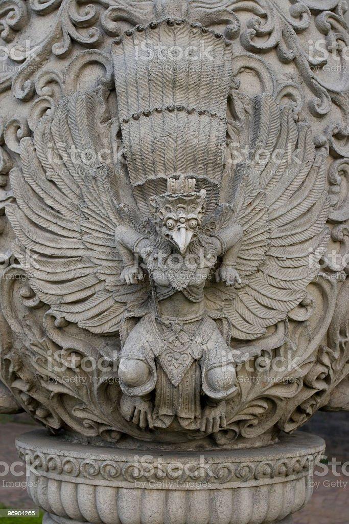 Garuda Indonesia royalty-free stock photo