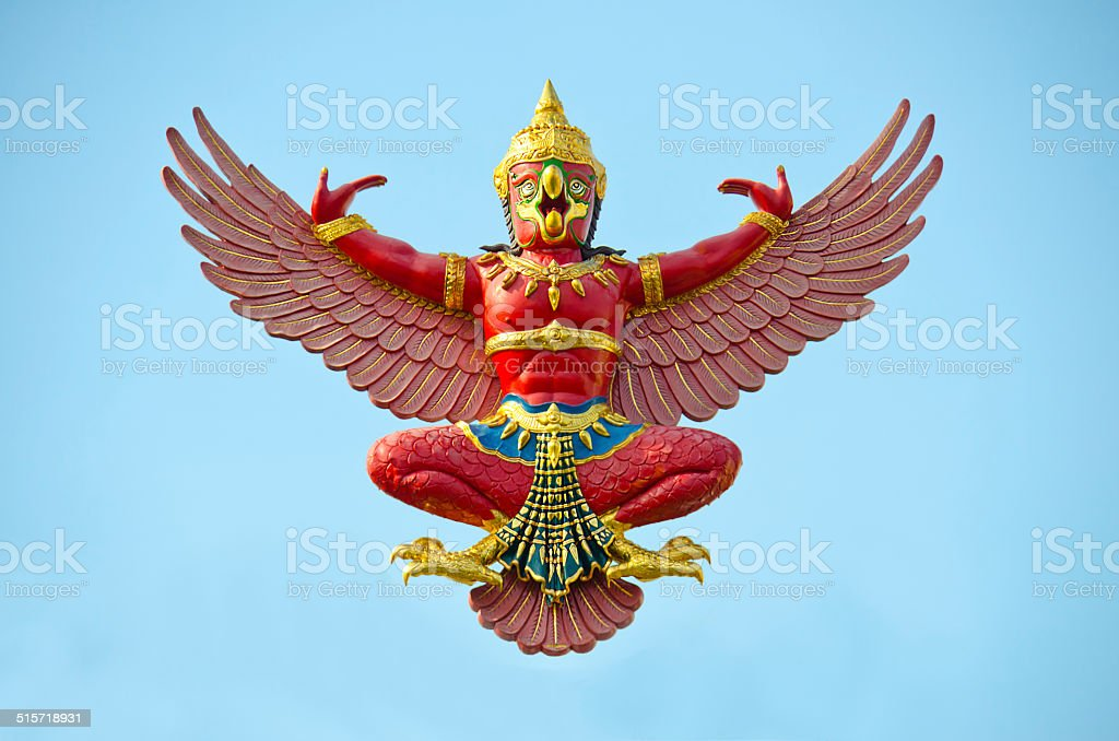 Garuda stock photo