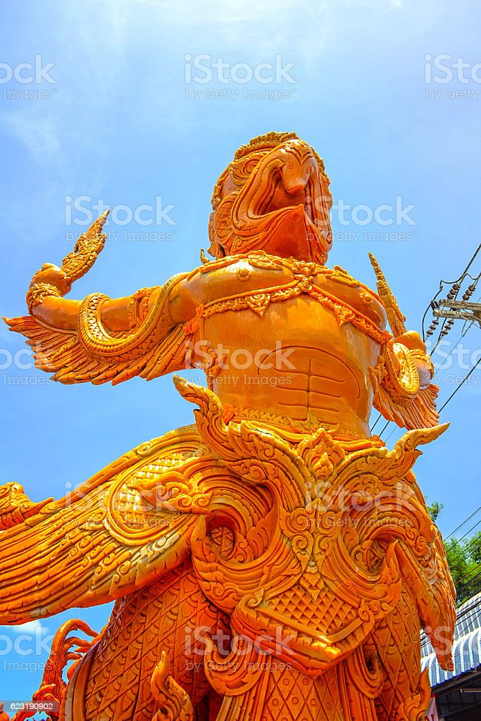 Garuda stock photo