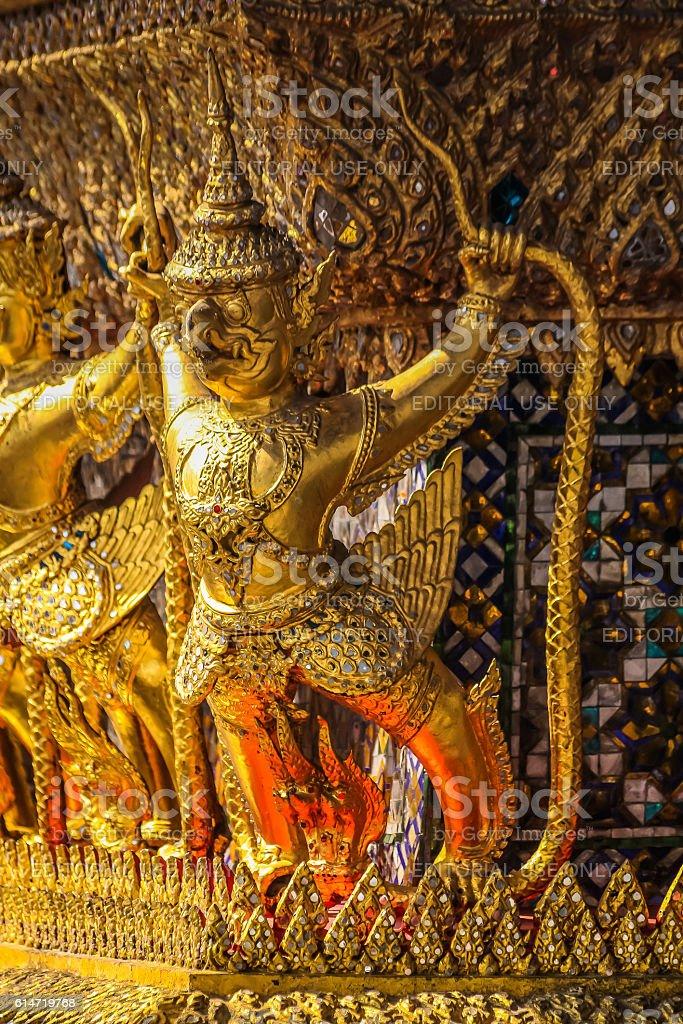 Garuda Statue Image stock photo