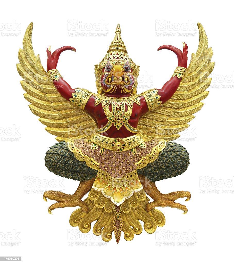 Garuda statue stock photo