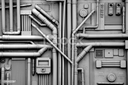 industry oil pipes, energy concept , concept of industry systems