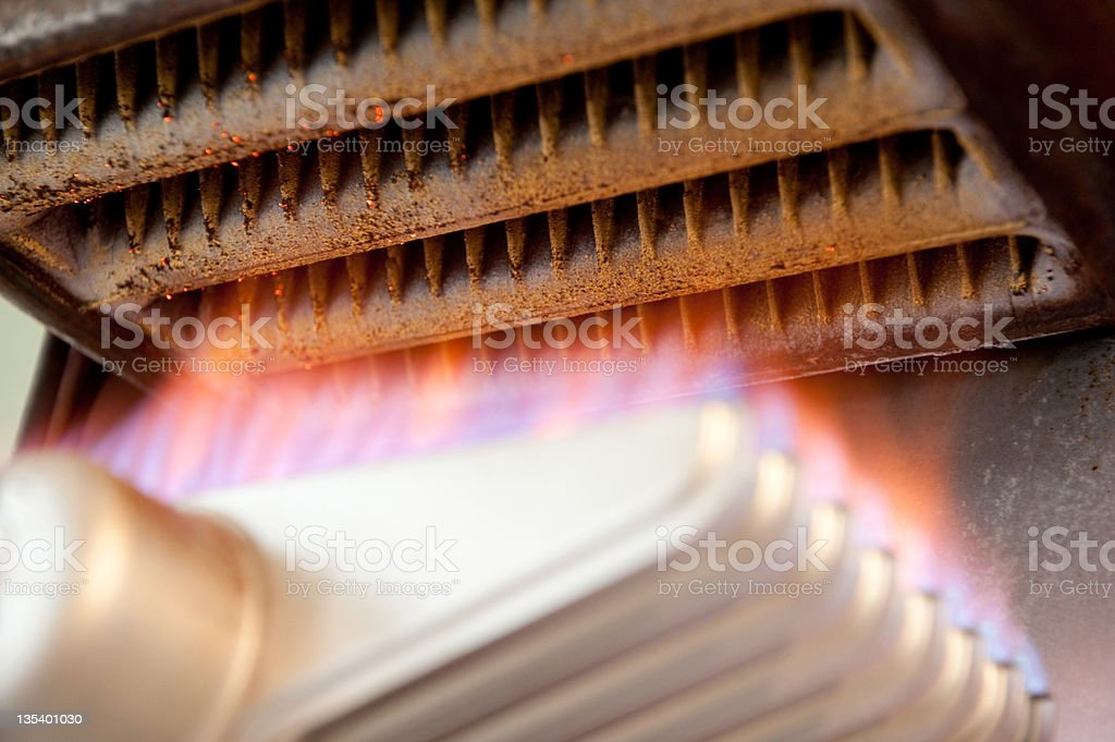 Gas Appliance stock photo