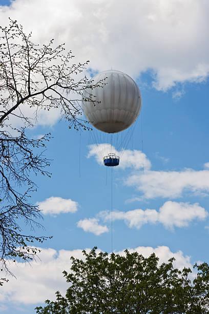 gas balloon stock photo