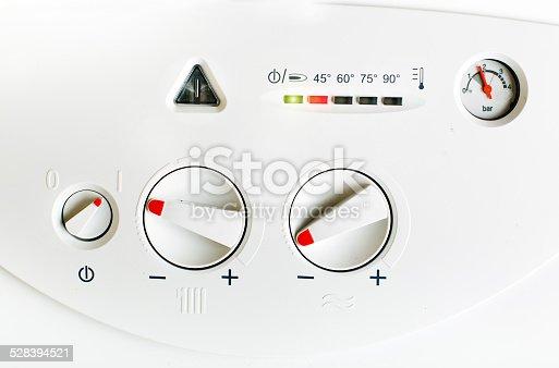 istock Gas boiler 528394521