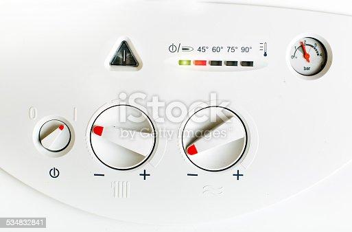 istock Gas boiler 534832841