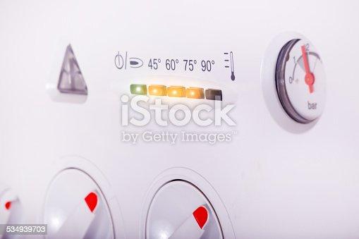 istock Gas boiler 534939703