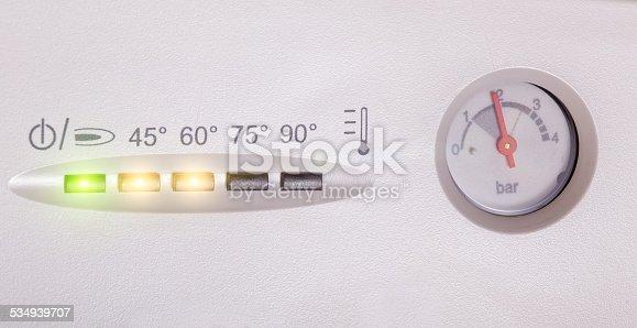 istock Gas boiler 534939707