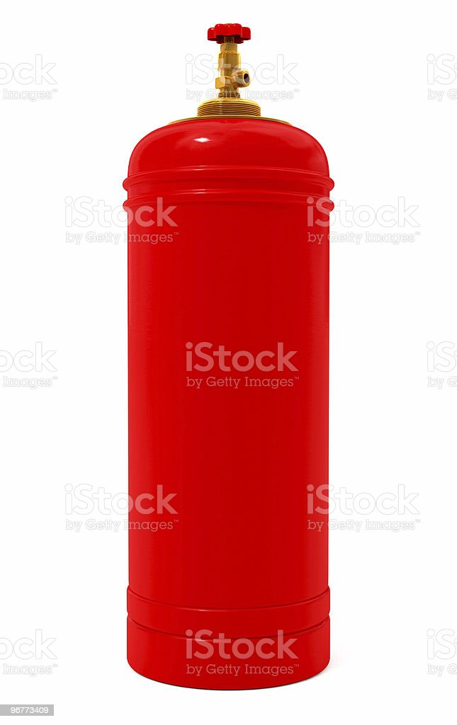 Gas bulb royalty-free stock photo