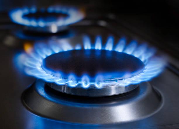 brûleur à gaz - cuisinière photos et images de collection