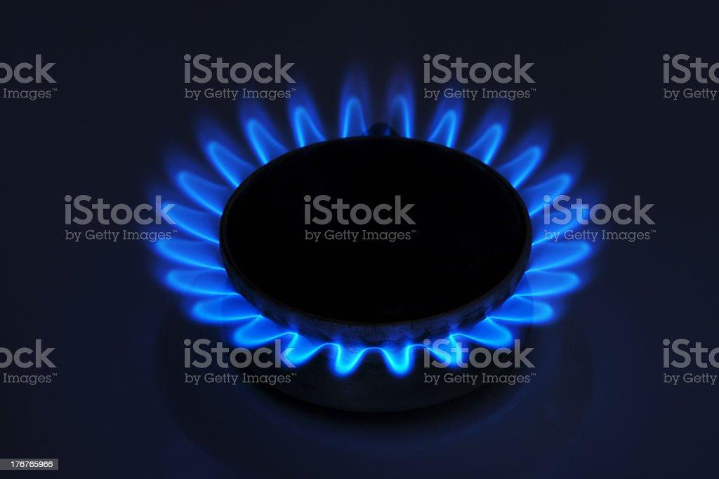 gas burner royalty-free stock photo