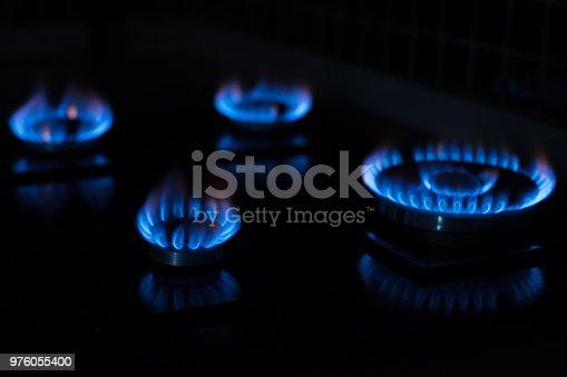 istock Gas burners 976055400