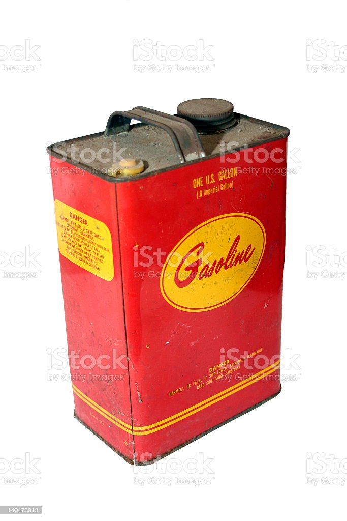 Gas Can 1 stock photo