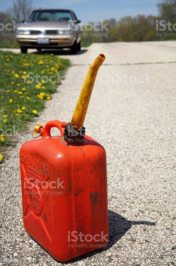 Gas Can royalty-free stock photo