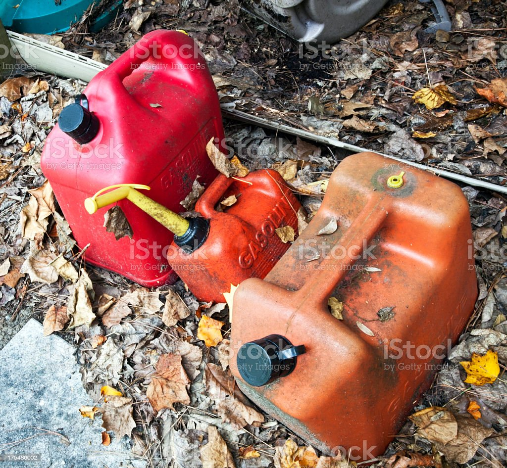 Gas Cans royalty-free stock photo