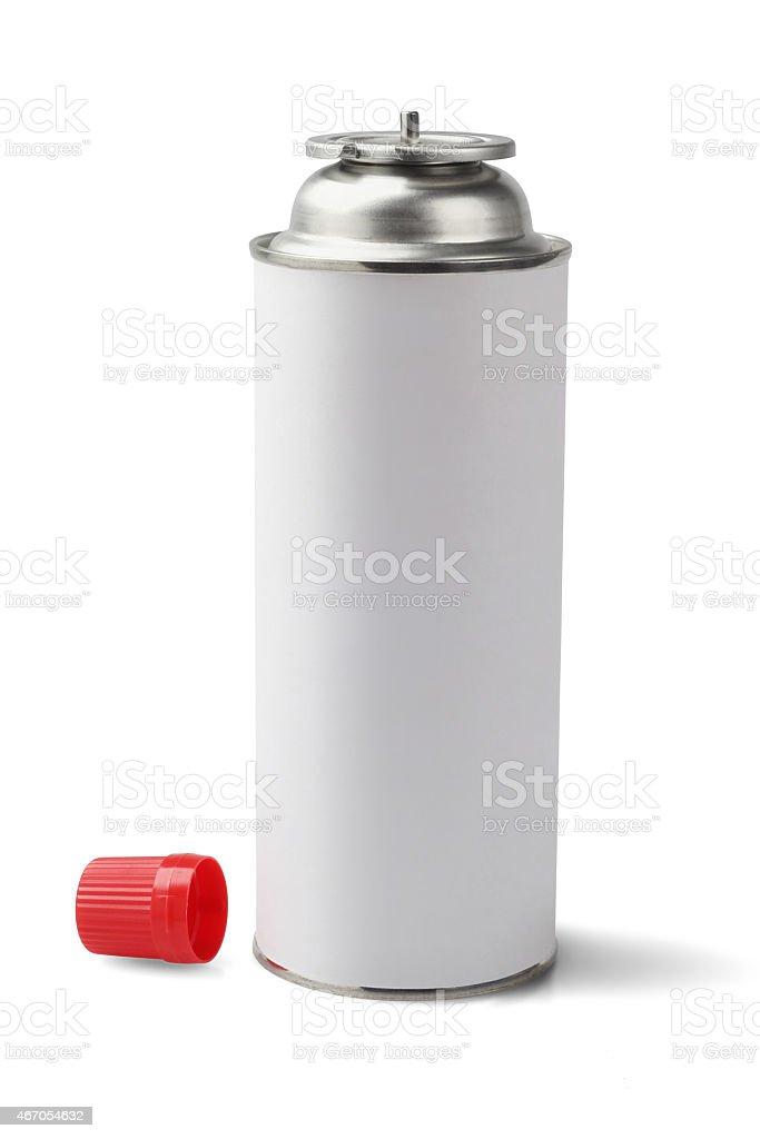 Gas Cartridge stock photo