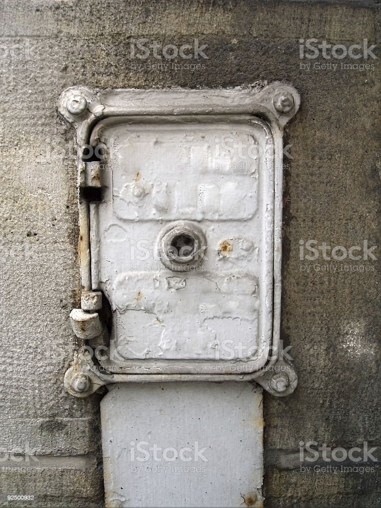 compagnie du gaz royalty-free stock photo
