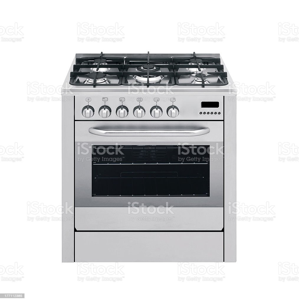 gas cooker royalty-free stock photo