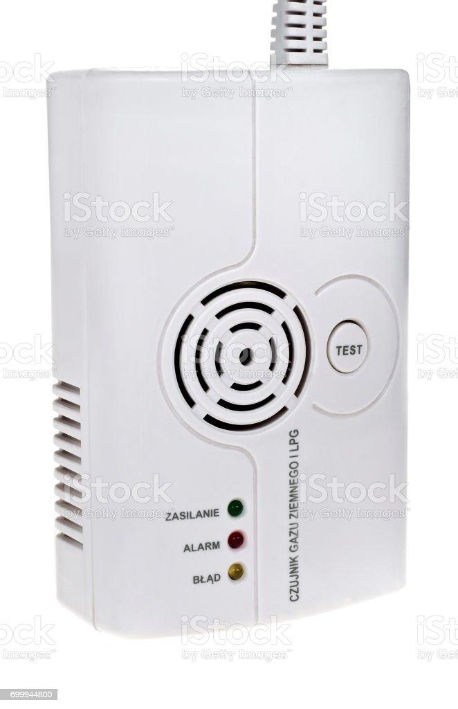 Gas Detector stock photo