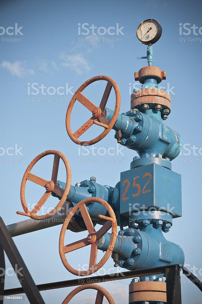 Gas equipment royalty-free stock photo