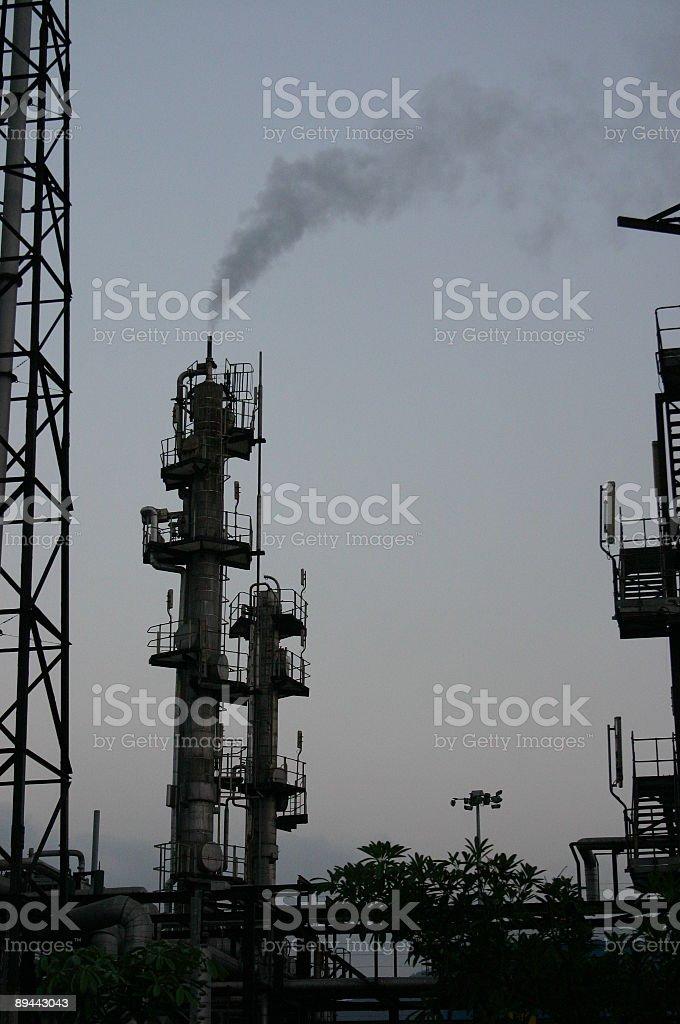 Usine à gaz photo libre de droits