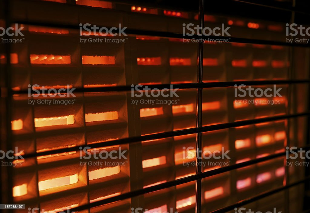 Gas Fire royalty-free stock photo