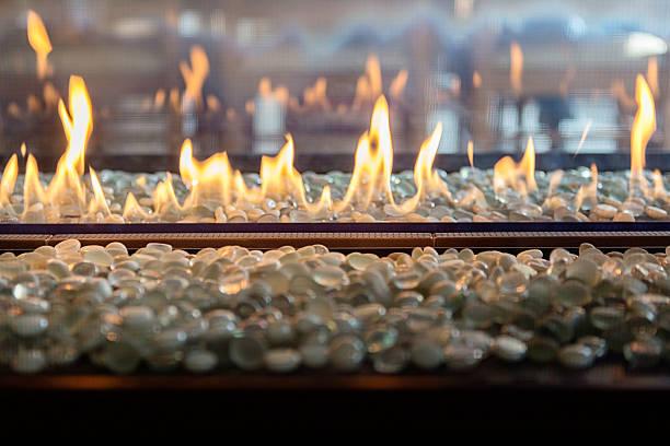 flame, gas - gaskamin stock-fotos und bilder