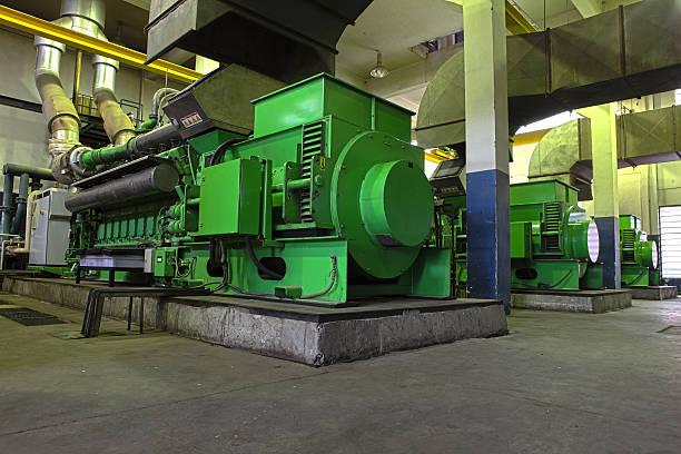 Gas Generator XXXL HDR stock photo