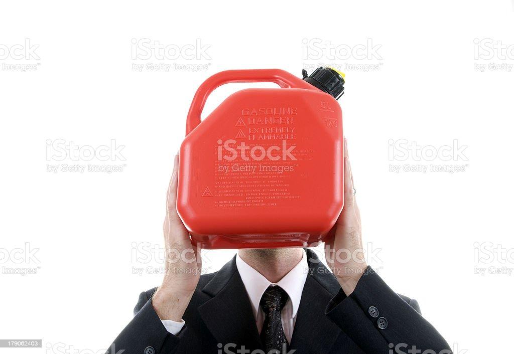 Gas Guy stock photo