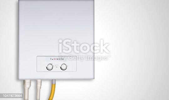 istock gas heater water 1047823664