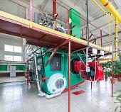 Moderne Industrielle Boilerraum Stock-Fotografie und mehr Bilder von ...