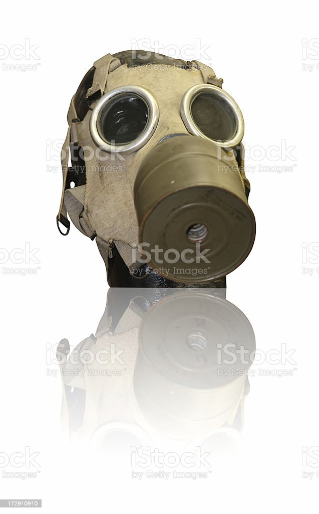 Maschera antigas - foto stock