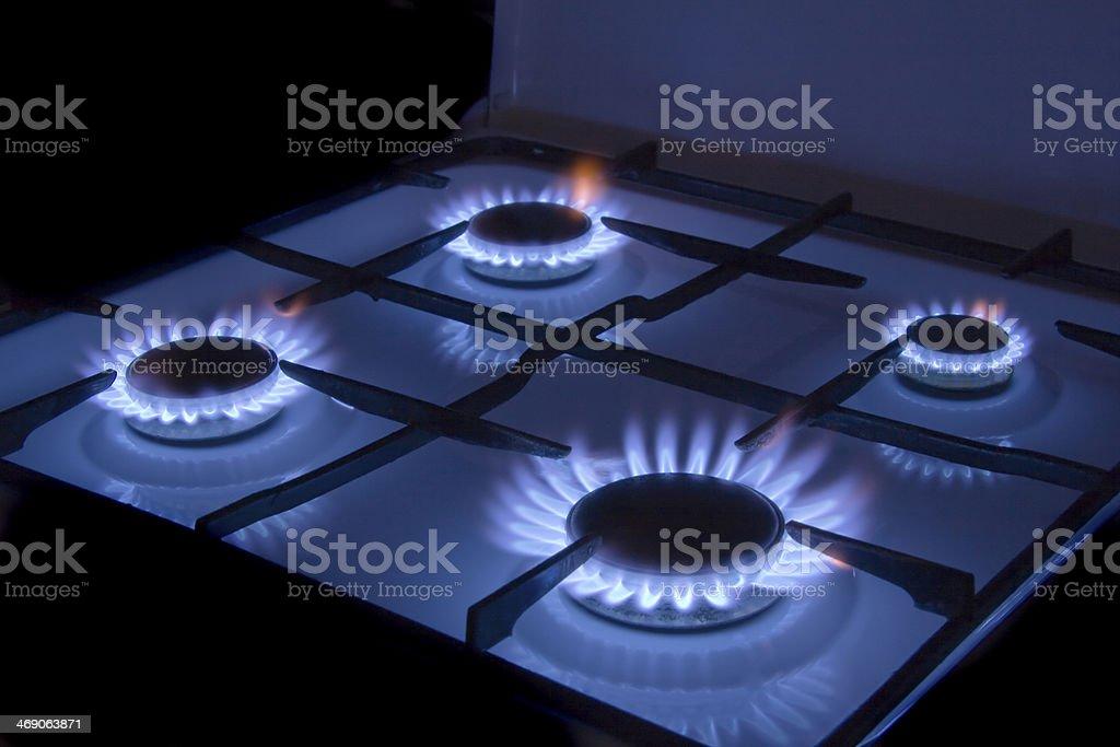 gas stock photo