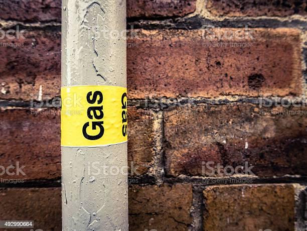 Gas Pipe Stockfoto und mehr Bilder von 2015