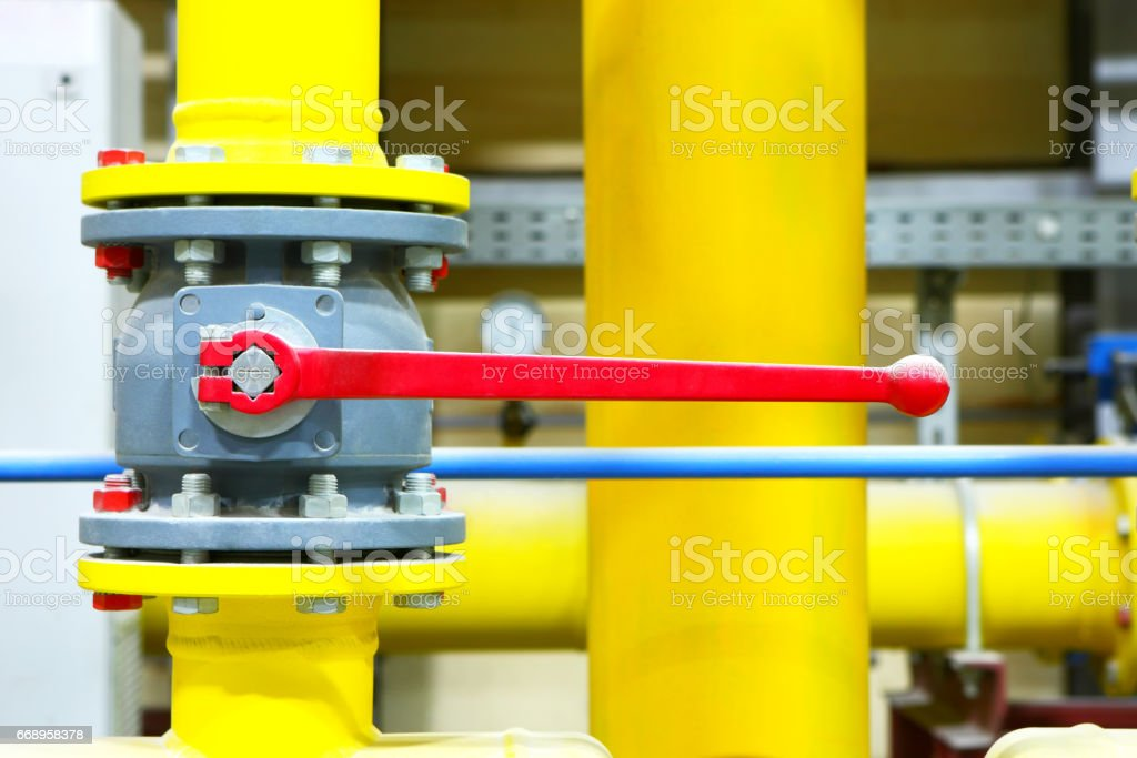 Gas pipeline.Industrial business foto stock royalty-free