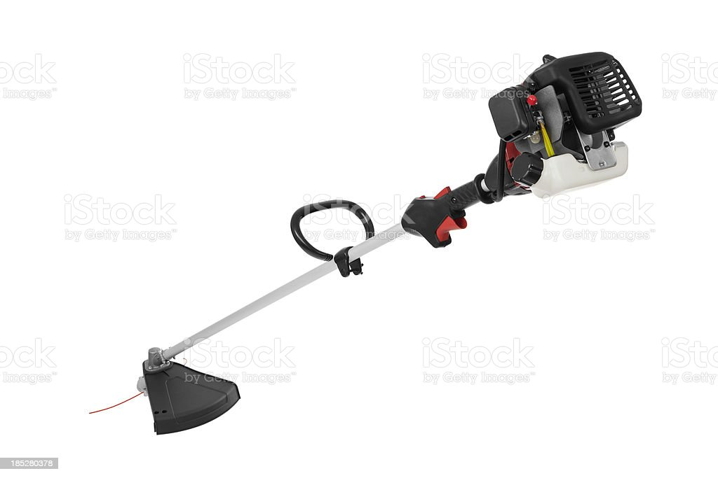 Gas Powered Weed Trimmer stock photo
