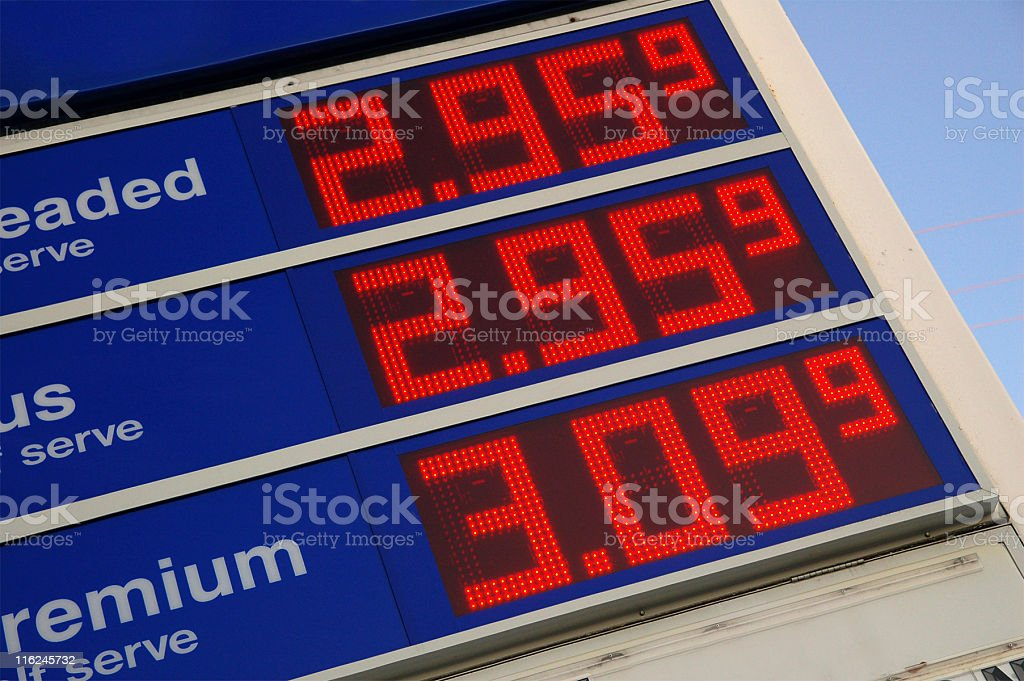 Gas Prices stock photo
