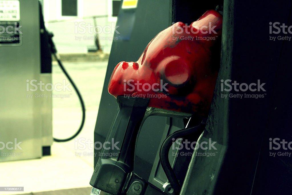 Gas Pump stock photo