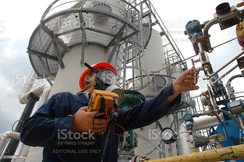Gasraffinerie – Foto