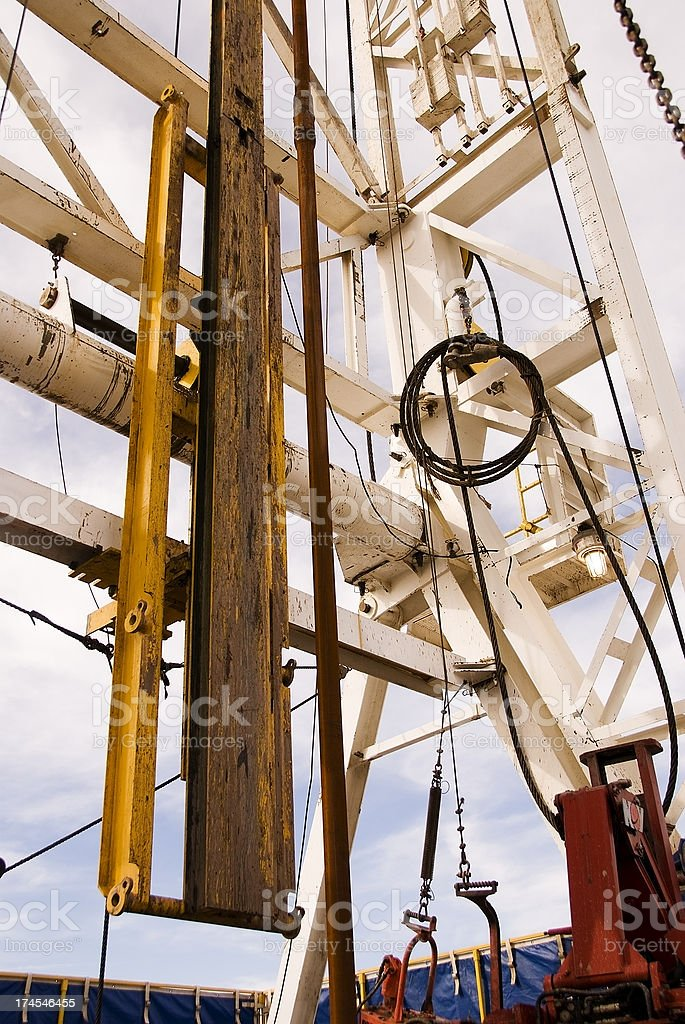 Gas Rig royalty-free stock photo