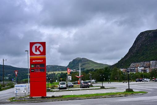 Gas Station Circle K — стоковые фотографии и другие картинки Company - Musical